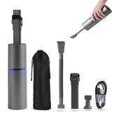 Aspirapolvere multifunzione 2 in 1 4500Pa Potente mini pulitore automatico portatile leggero wireless per casa auto