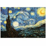 1000 Pieces Nuit Etoilee DIY Assembly Jigsaw Puzzles Landscape Picture Educational Games Toy for Adults Children Pretty Gift