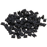 500 stks 2.54mm Jumper Cap Kortsluiting Cap Pin Connector Blok