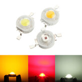 High Power 1W LED DIY Light Bead Lamp Chip Vermelho Branco Amarelo