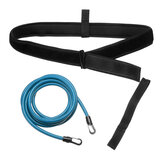 2/3/4M Swim Bungee Training Belt Swimming Resistance Safe Leash Exerciser