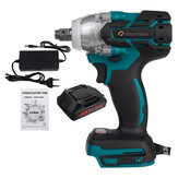 88VF 680N.M 7500mAh Electric Cordless Impact Wrench Drill Socket W/ 1pc or 2pcs Battery