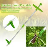 DZT Garden Lawn Portable Durable Killer Tool Stand Up Weed Puller Root Remover Tools