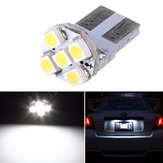 T10 White 5-SMD 168 194 3528 LED Bulbs For Car License Plate Light