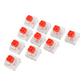 10Pcs Kailh BOX Red Switch Keyboard Switches for Mechanical Gaming Keyboard