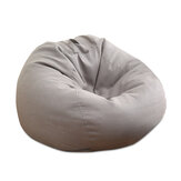 Lazy Sofa Large Bean Bag Cover Chair Cushion Pillow Lounger Couch Seat Indoor