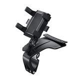360 ° rotatie auto mobiele telefoon houder auto zonneklep dashboard mobiele telefoon houder