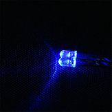 Feiyue Niebieski samochód RC światło LED na 1/12 FY03 FY04 FY05 FY06 1/10 HG RC Model Części ⌀5mm