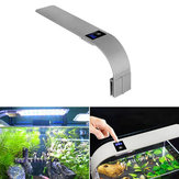 X9 10W / 15W Aquarium Light aquático Planta Lâmpada Fish Tank Light impermeável Clip-on lâmpada