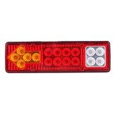 12V / 24V 17 LED arrière feu arrière clignotant pour camion de remorque de voiture