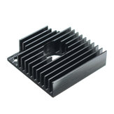5Pcs Aluminum Heat Sink 40*40*11mm For 3D Printer MK7 MK8 Extruder