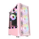 GAMEKM ATX Obudowa do gier komputerowych Chłodzenie wodne Obsługa pulpitu ATX / M-ATX / ITX Płyta główna na PC