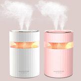 Ультразвуковой увлажнитель воздуха USB с двойным соплом, 900 мл, емкость для воды, Cool Туман Maker Fogger с Colorful ночником