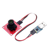 Colorful OV2640 Camera Module Serial Port JPEG Output with Converter Board Geekcreit for Arduino Raspberry Pi ARM MCU - products that work with official Arduino Raspberry Pi ARM MCU boards