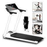 10km/h Folding Electric Treadmill Home Gym Fitness Portable LED Display Sports Motorized Running Machine