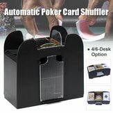 4/6-Deck Automatic Card Shuffler Battery Operated Casino Poker Playing Machine