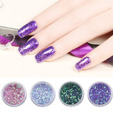 Glitter Nagel Dekoration Pulver Maniküre Salon Shinning Tipps UV Gel DIY Design
