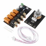 Audio Input Signal Selector Relay Board Signal Switching Amplifier Board RCA for Speakers
