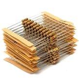 Resistore a film di carbonio da 300 pezzi 30 valore 1ohm-3M 1 / 2W