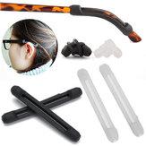 Cómodo Soft Silicona Anti Ganchos antideslizantes para gafas de sol Gafas