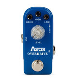 AZOR AP-308 Overdrive Mini Guitar Effect Pedal Mini Pedal Effect Accessories Overdrive Guitar Pedal Parts Accessories