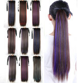 6 Colors Bleaching-Dyeing Long Ponytail Colored Pear Curly Wig Gradient Wig Piece