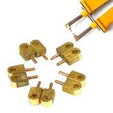 10Pcs Alumina Cobre Pin de soldadura para HB-71B Soldadura por puntos de alta potencia Neelde Batería Soldadura Accesorio Soldadura por pulsos Durabilidad