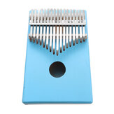 17 Tasten C-Tune Thumb Piano Kalimba Tragbares Massivholz-Fingerpiano