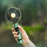 Bakeey X03 3 em 1 mini alto-falante sem fio com ventoinha de resfriamento de condução óssea recarregável de três velocidades portátil