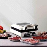 Silencare SC-K305 Steak Machine 1350W 220V Διπλής όψης Τηγάνισμα Ρυθμιζόμενη Θερμοκρασία για Κουζίνα