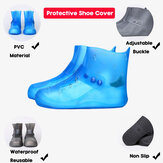 Women Non-slip Waterproof Reusable Outdoor High Top Shoe Covers