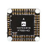 MATEK Systems F722-HD F7 Flight Controller OSD 3~8S MPU6000 32M Blackbox 5V/8V BEC comptiable DJI FPV Air Unit 30.5x30.5mm for RC Drone FPV Racing