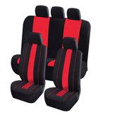 8pezziinpoliesteretessutoauto anteriore e posteriore coprisedile protezione per cinque posti auto