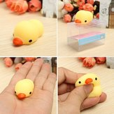 Gul and Duckling Duck Squishy Squeeze Cute Healing Legetøj Kawaii Collection Stress Reliever Gift
