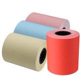 57 × 50mm Thermodrucker Drucker Papier Für MEMOBIRD Fotodrucker Rot / Rosa / Gelb / Blau