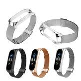 Montre intelligente en maille métallique Bakeey Bande Bracelet de remplacement pour Xiaomi Mi Bande 5 Non original