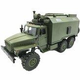 WPL B36 Ural 1/16 2.4G 6WD Rc Auto Militaire Truck Rock Crawler Commando Communicatie Voertuig RTR Speelgoed
