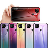 Bakeey Gradient Color Tempered Glass Shockproof Scratch Resistant Protective Case for Xiaomi Redmi 9C Non-original