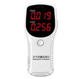 Moniteur de qualité de l'air HCHO TVOC PM2.5 PM10 testeur de détecteur de formaldéhyde test à domicile