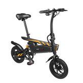 [Directo de la UE] Ziyoujiguang T18 7.8Ah 36V 250W 12 pulgadas bicicleta eléctrica plegable 25km / h Velocidad de rodamiento 120kg