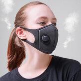 PM2.5 Anti Faccia per inquinamento atmosferico Maschera Bocca in carbone attivo traspirante Maschera campeggio Ciclismo da viaggio Maschera