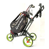 DOMINANT Professional Golf Three Wheeled Trolley Golf Bag Cart Outdoor Sports Golf Pitch Tool Supplies