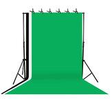 Σύστημα υποστήριξης φόντου βάσης Photo Studio με 3 σκηνικά και θήκη μεταφοράς