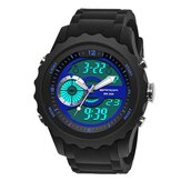 SANDA 769 Sport Men Watch Luminous Date Week Display Dual Time Waterproof Digital Watch Digital