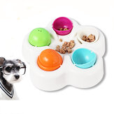 Pet IQ Smart Toy Supplies Cat Dog Interactive Toy Cat  Dog Bowl Puppy Treat Dispenser Interactive Toys
