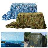 7mx2m Camo Camouflage Netto do pokrycia samochodu Camping Military CS Hunting Shooting Hide