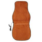 12V Heated Plush Car Seat Cushion Cover Heating Heater Warmer Pad Winter