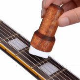 Wooden Guitar Bass String Cleaner Instrument Body Rust Remover Brush Cleaning Tool Stringed Musical Instruments Accessories