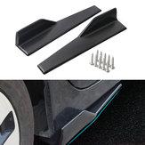 45 cm Araba Siyah Yan Etekler Rocker Spiltters Winglet Kanatları BMW E90 E91 E92 E93 E46 F80 için Süslemeleri 30 F31 F32