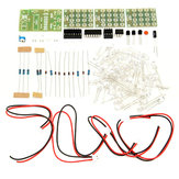 DIY CD4017 + ne555 Strobe Module Electronics Learning Kit
